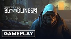 Vampire The Masquerade Bloodlines 2: 28 Minute Gameplay Demo - Gamescom 2019