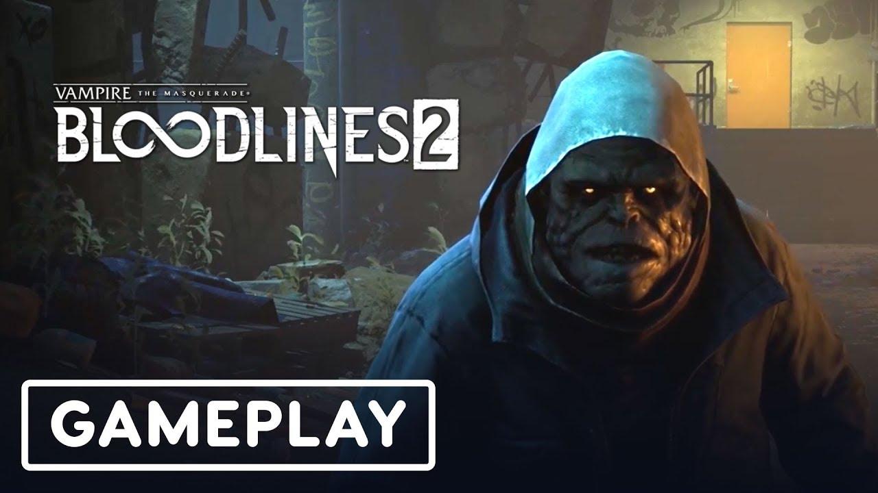 Vampire The Masquerade Bloodlines 2: 28 Minute Gameplay Demo - Gamescom 2019