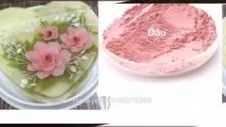 Video Bột màu rau củ làm thạch rau câu 3D, 4D download MP3, 3GP, MP4, WEBM, AVI, FLV Agustus 2018