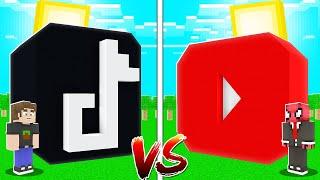TİKTOK EV VS YOUTUBE EV! 🏡 - Minecraft