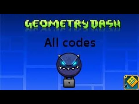 All Codes (Geometry Dash)