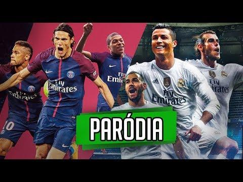 ♫ PSG x REAL MADRID | Paródia Cristiano Ronaldo | Neymar Jr | Cavani | Benzema ‹ RALPH +10 ›