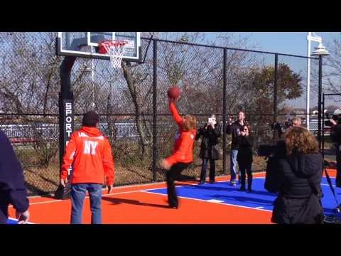 Billy Crystal's Dreamcourt Dedication in Long Beach, NY-REVISED