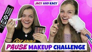 Pause Makeup Challenge ~ Jacy and Kacy