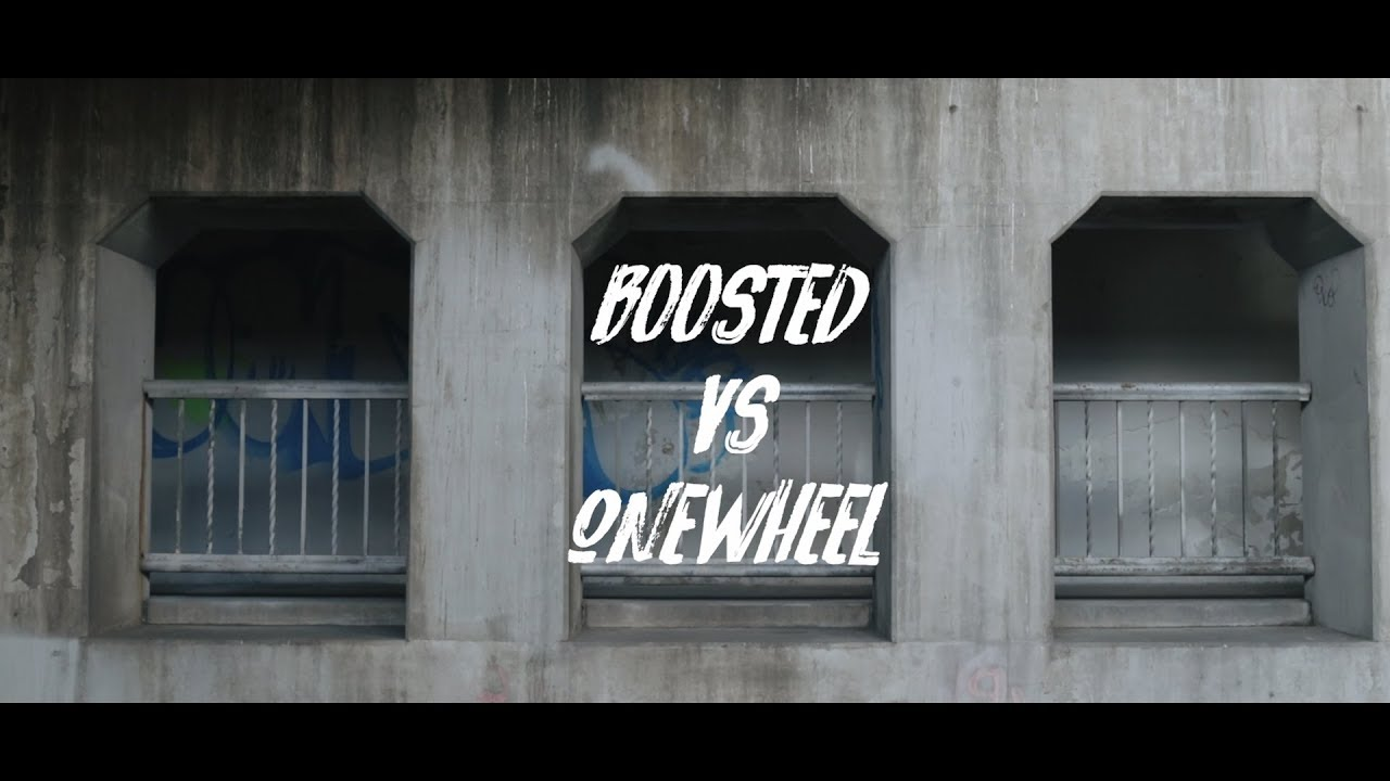 Boosted Board vs  OneWheel: Race Through the City