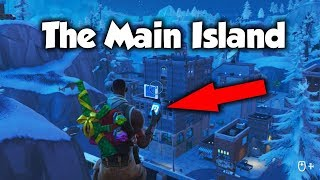 *NEW* How To Get To The Main Island In CREATIVE MODE! (Fortnite)