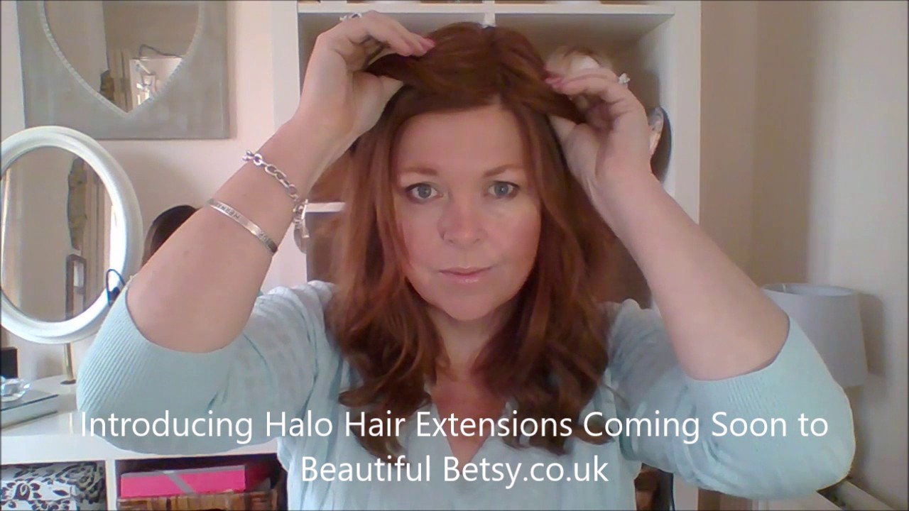 Drab To Fab In Less Than A Minute Halo Hair Topper Beautiful Betsy UK