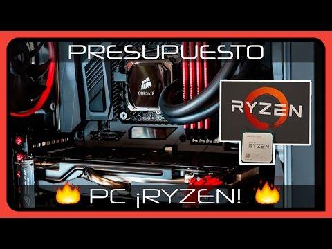 PRESUPUESTO 🔥 AMD RYZEN R7 1700 🔥 CORSAIR y GIGABYTE 1600€ - PC GAMER 2017 en Español