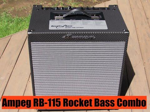 Bass Musician Magazine Reviews - Ampeg RB-115 Rocket Bass Combo