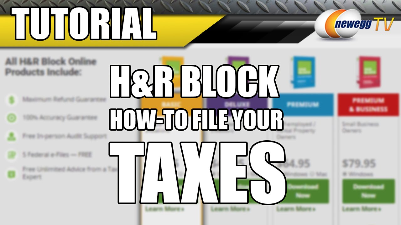 tax tutorial 7