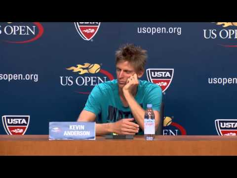 Interview: Kevin Anderson-day 8 us open 2015