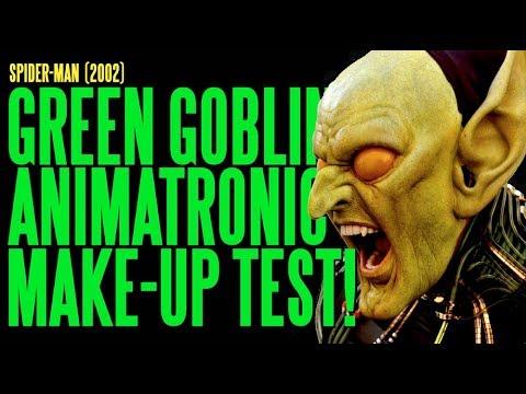 SPIDER-MAN Green Goblin Animatronic Make-Up Hybrid Test ADI