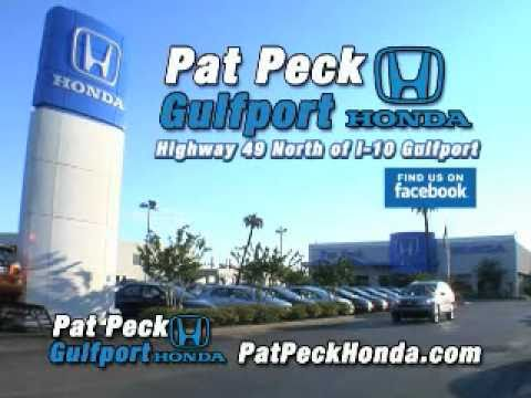 pat peck honda gulfport new civic lease youtube. Black Bedroom Furniture Sets. Home Design Ideas