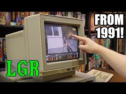 LGR Oddware - IBM 8516 Touchscreen CRT Monitor