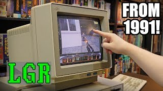 LGR Oddware - IBM 8516 Touchscreen CRT Monitor