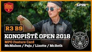 Konopiste Open 2018 Lead Card, Round 3,...