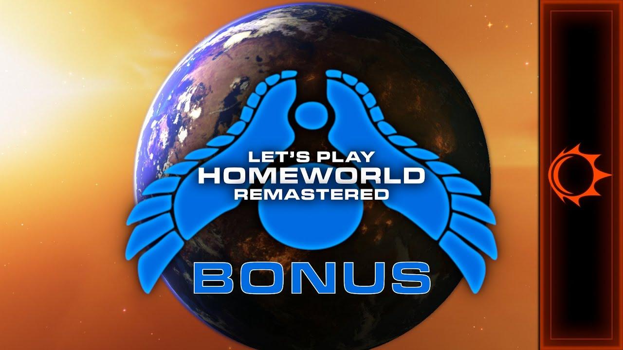 Let's Play | Homeworld Remastered BONUS - How To Lose (Over And Over And Over) In Homeworld