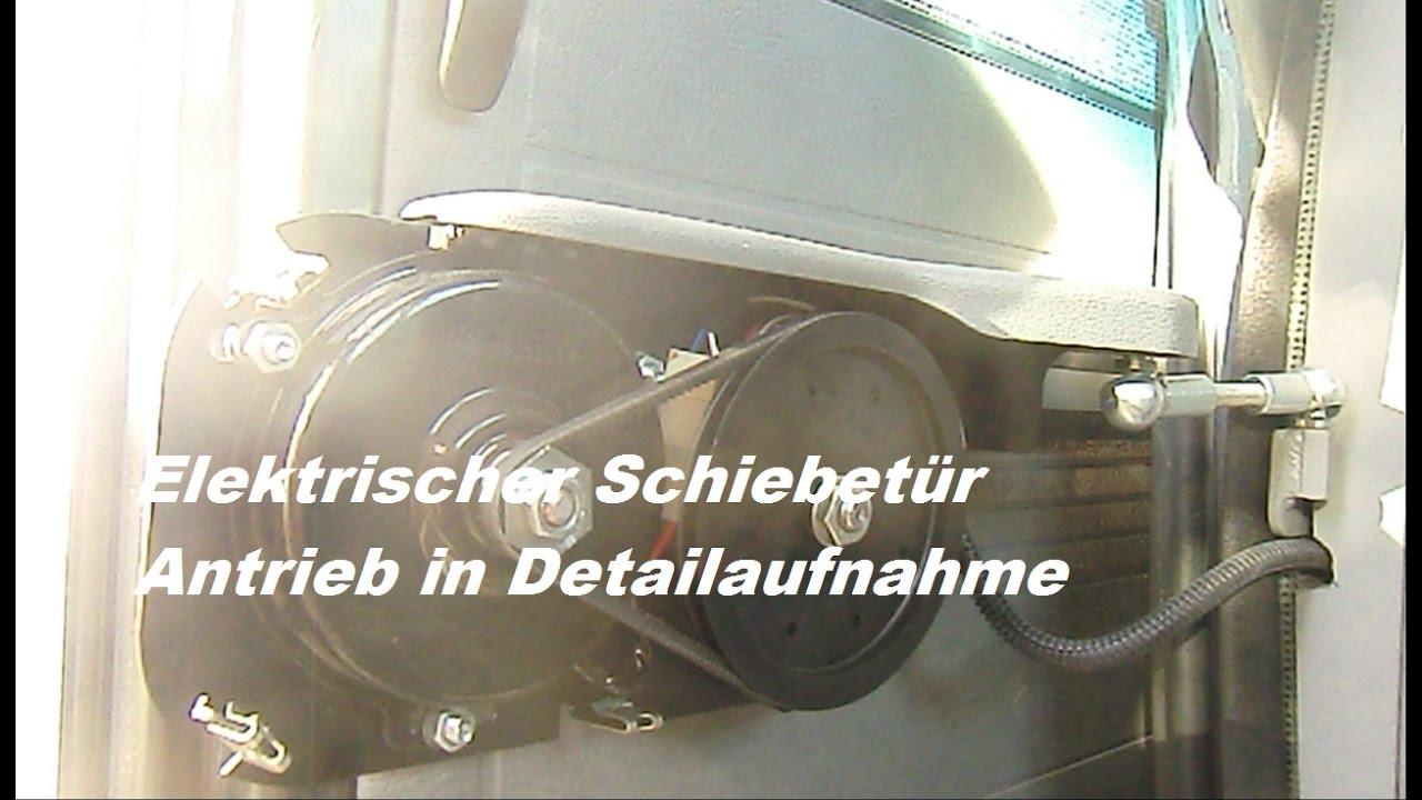 Elektrischer Schiebetur Antrieb Im Detail Vw T3 Caravelle Carat