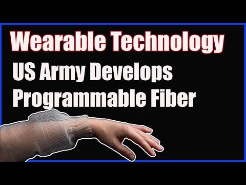 Wearable Technology:  US Army Develops Programmable Fiber for Uniforms