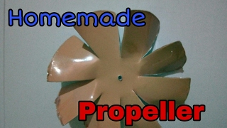 How to make simple homemade propeller