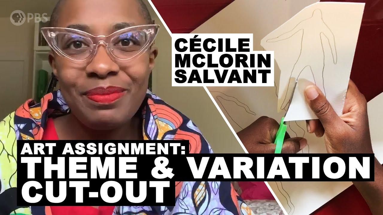 Make a Cut-Out with Cécile McLorin Salvant