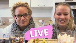 CANDY Challenge mit Eva & Kathi LIVE Ihr bestimmt welche Süßigkeiten mit dabei sind! DIY Inspiration