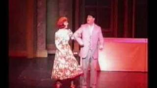 "Rachel Mac as Sally Smith with my ""Bill"" singing Me and My Girl - 2..."
