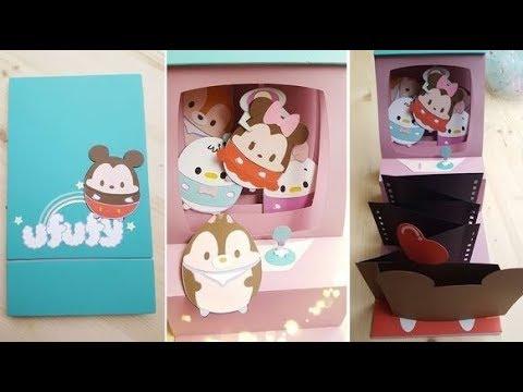 ufufy ღゝ ╹)ノLine♡ 夾娃娃機立體卡片♥♥♥製作黏貼示範 @ 卡若琳立體成形藝術papercraft :: 痞客邦