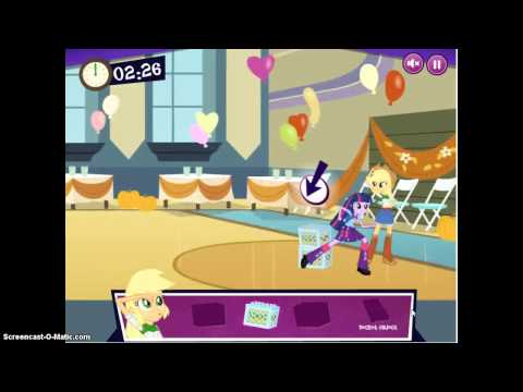 Mlp Equestria Girls:Canterlot High School Dash Part 2
