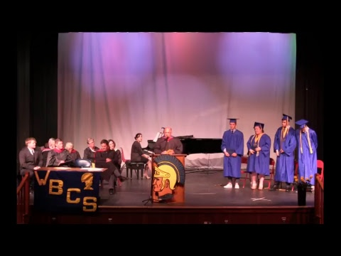 Websterville Baptist Christian School 2017 High School Graduation