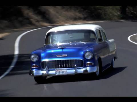 Art Morrison 1955 Chevy Bel Air - Faster Than a Ferrari?