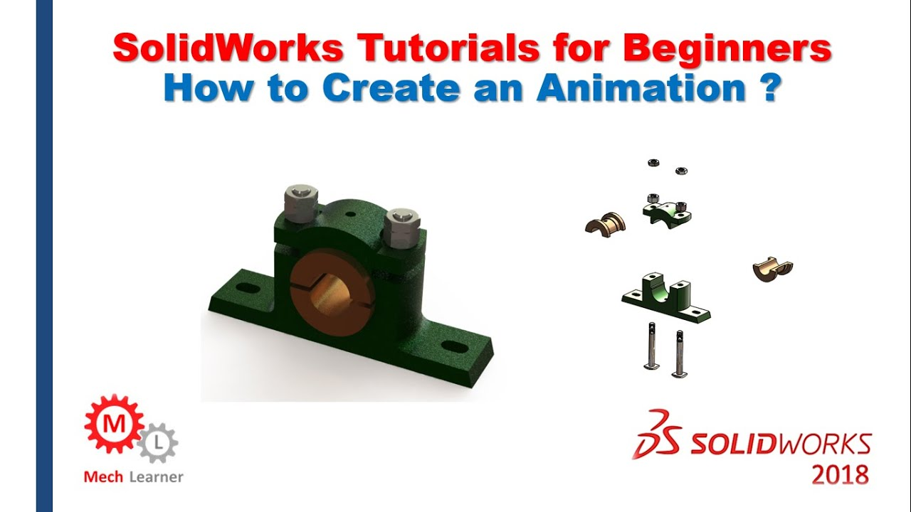 how to make an animation in solidworks