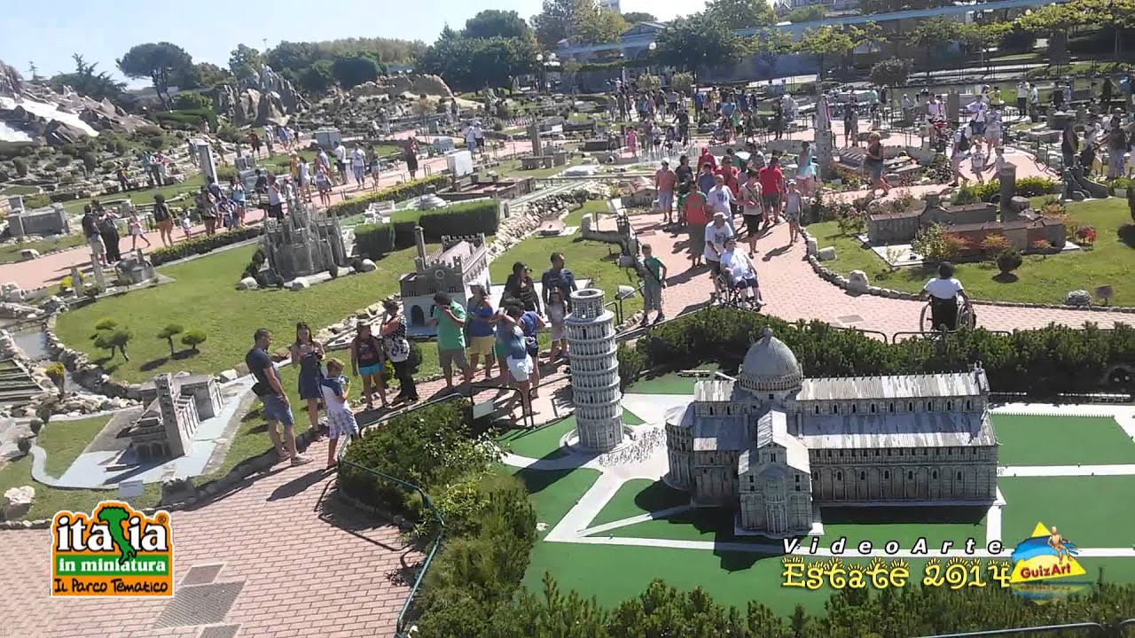 Italia in miniatura parco tematico 2014 youtube for Be italia