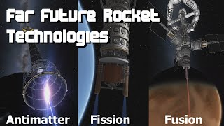 Far Future Rocket Engine Technologies - Fission, Fusion & Antimatter