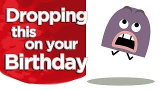 Happy Birthday Funny Animation - Cartoon Greeting eCard For A Birthday