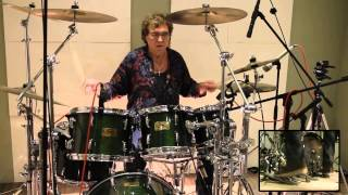Jarvi Music Recording  Jmr  Session - Dave's Gone Skiing - Toto - Drum Cover