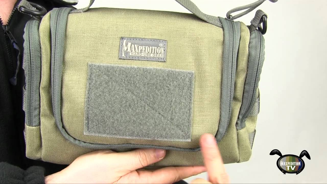 travel advice: aftermath™ compact toiletries bag for carry on