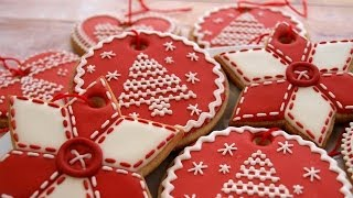 These cookies were inspired by my late grandmother's handmade Chris...