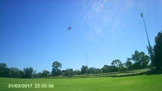 MJX BUGS 3 SPORTS FLYING ON 3S LIPO & 6045 TRIBLADES