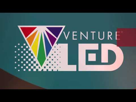Venture Lighting video on display at LFI2016 in San Diego