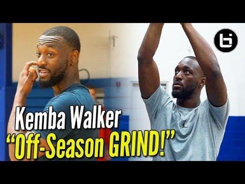 Kemba Walker: How to Get ALL-STAR BUCKETS!! OFF SEASON GRIND w/ Ty Patterson