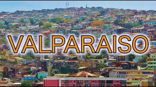 Valparaiso Chile Walking Tour 4K HD