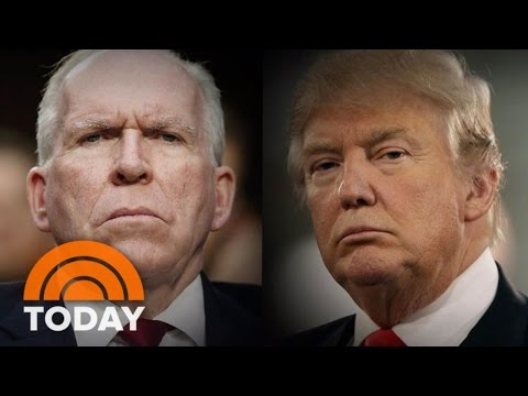 CIA Director John Brennan Slams Trump For Recent Intelligence Accusations | TODAY