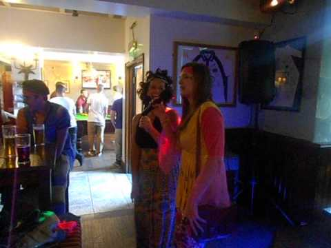 Dancing Queen  Karaoke - Three Horseshoes Headingley Leeds Otley Run
