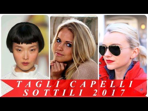 Tagli Capelli Sottili 2017