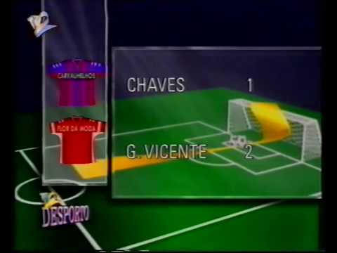 Chaves - Gil Vicente 23/05/1993