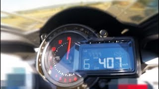 When 400 Km/H is not enough - World fastest motorcycle