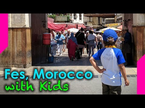 462c201768f7d Exploring Fes Morocco With Kids - YouTube