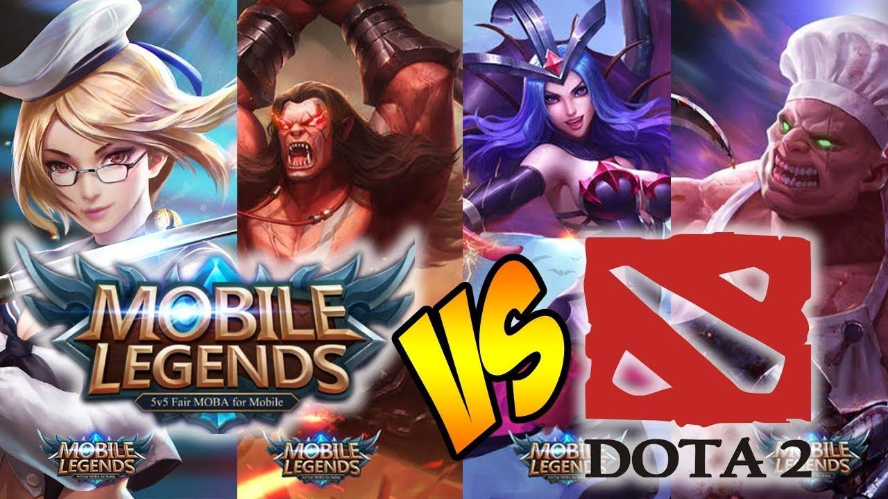 OPINI] Dota 2 Dan Mobile Legends Dua Hal Yang Tidak Bisa