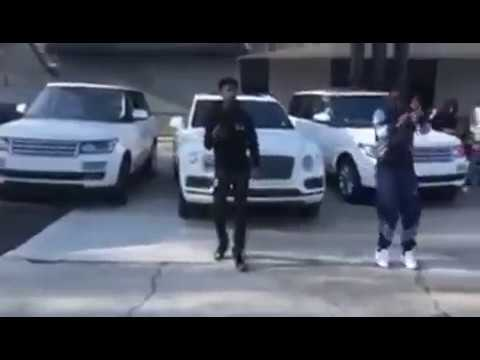 BlocBoy JB AND 21 Savage Shoot official video to ROVER remix